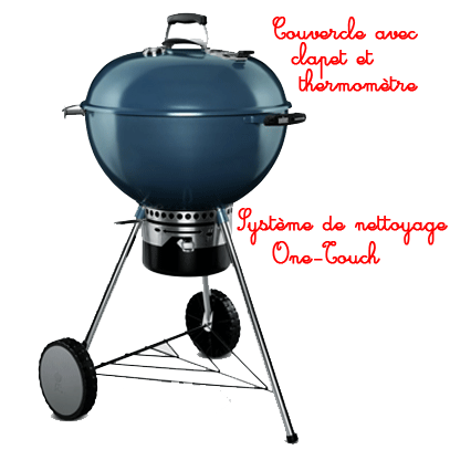 zoom sur le barbecue weber mastertouch esprit barbecue. Black Bedroom Furniture Sets. Home Design Ideas